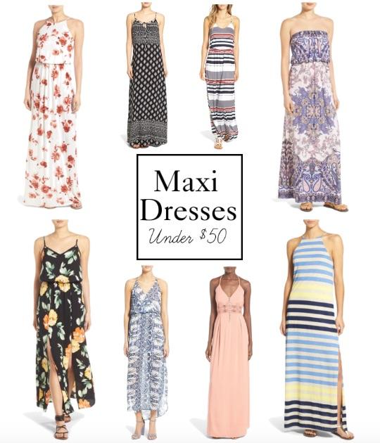 7c0d03aa9 Maxi Dresses Under $50 - Polished Closets