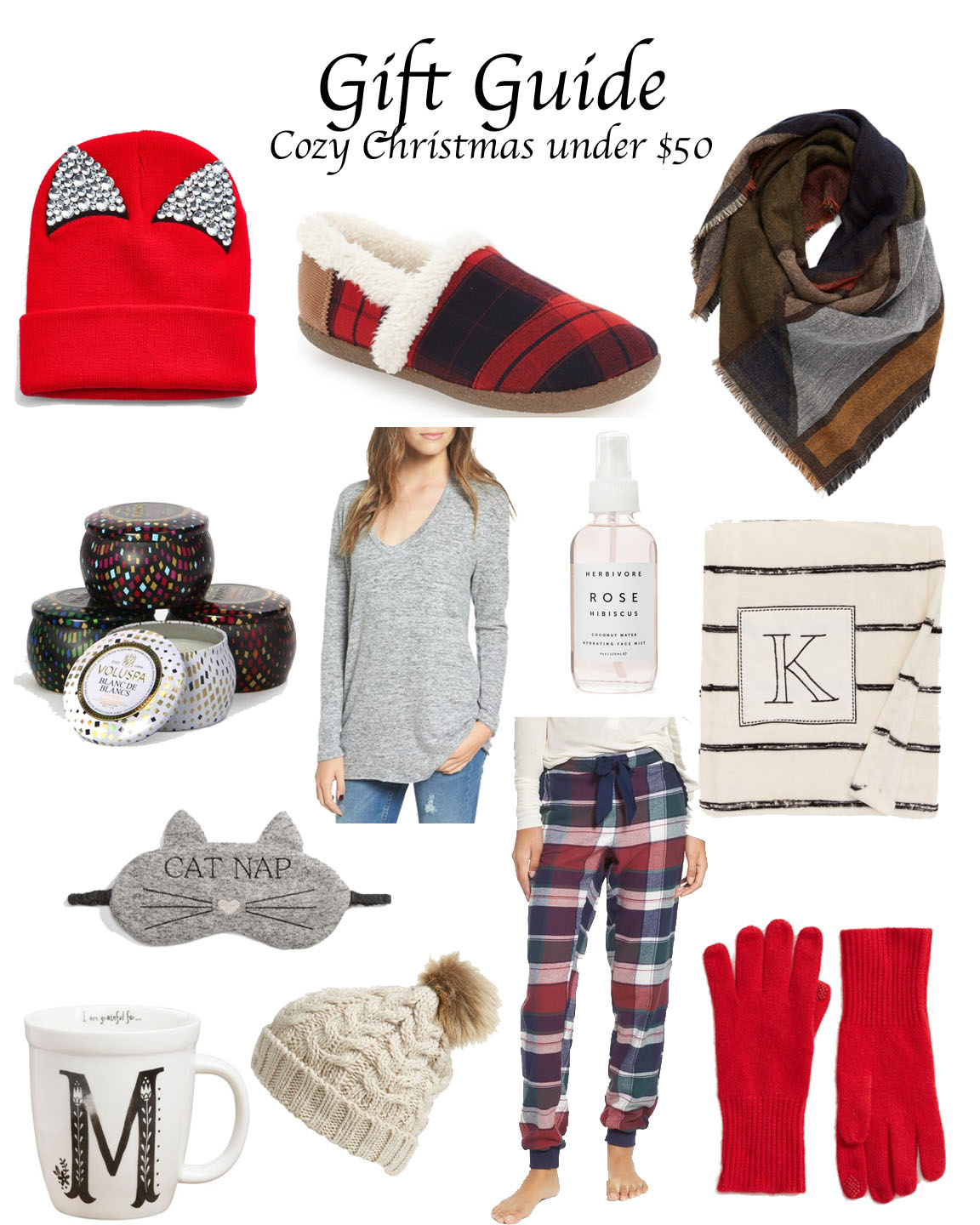 Gift Guide Cozy Christmas Under 50 Polished Closets