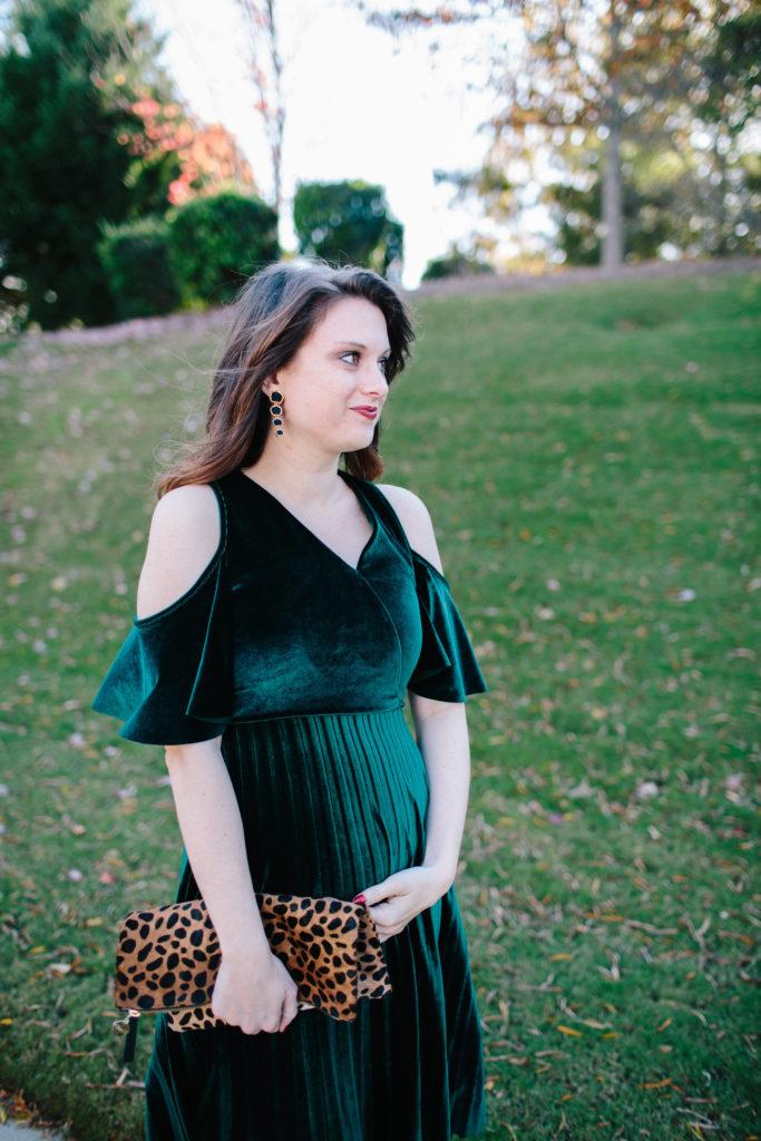 A Velvet Dress For The Holidays Polished Closets