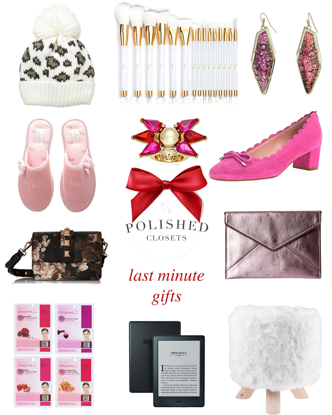 Gift guide last minute holiday gifts polished closets for Week end last minute