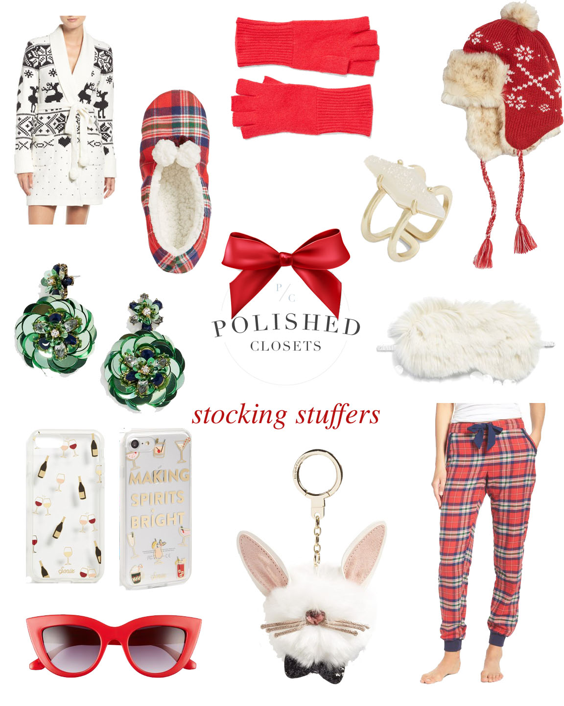 Gift Guide Stocking Stuffers Polished Closets