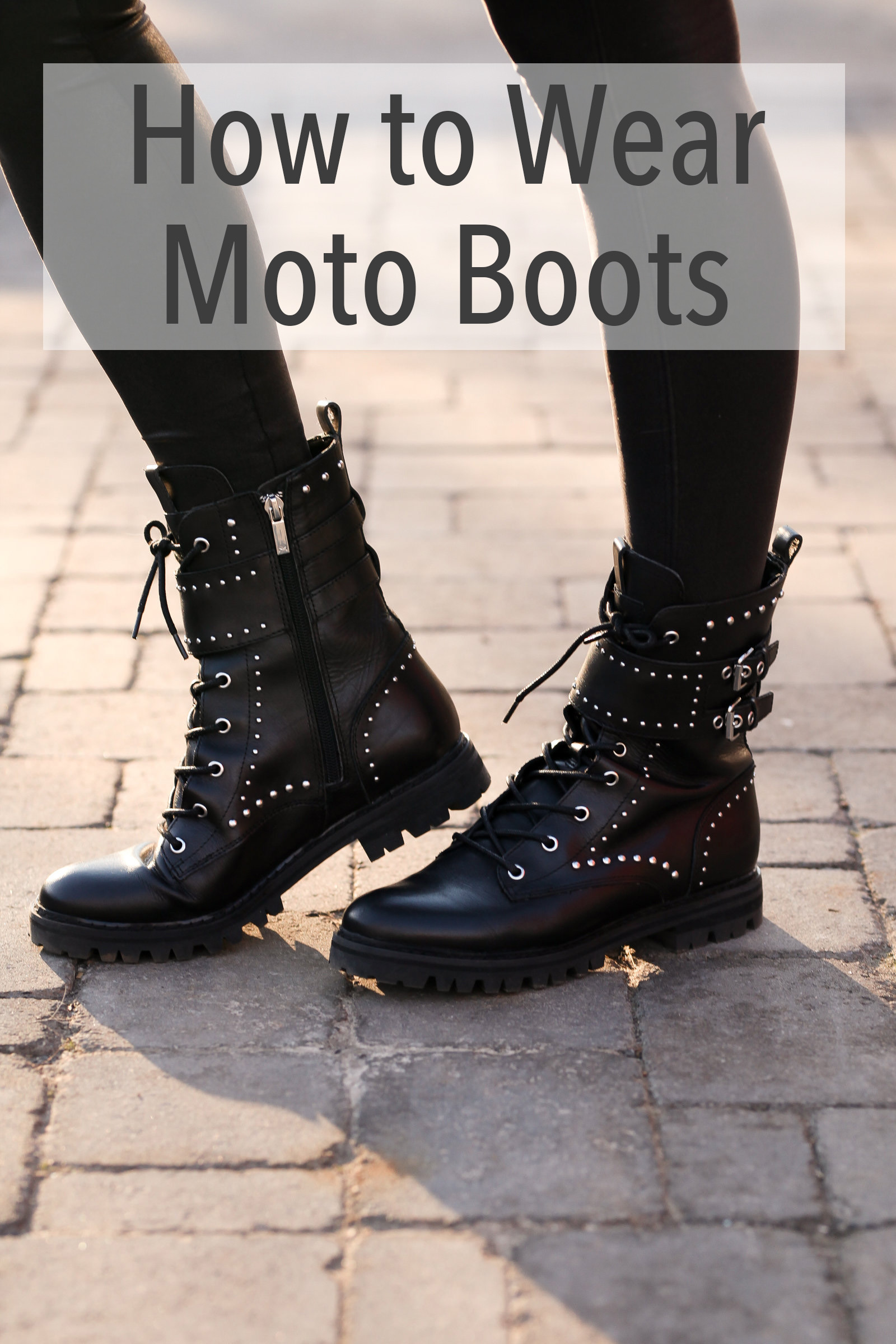 official photos 53089 a28dc How To Wear Motorcycle Boots - Polished Closets