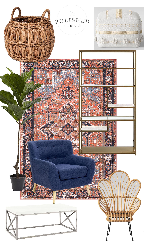 Boho Modern Living Room: A Modern Boho Inspired Living Room On A Budget