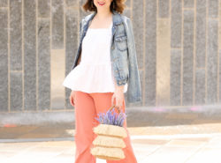 Pink Trousers for Spring