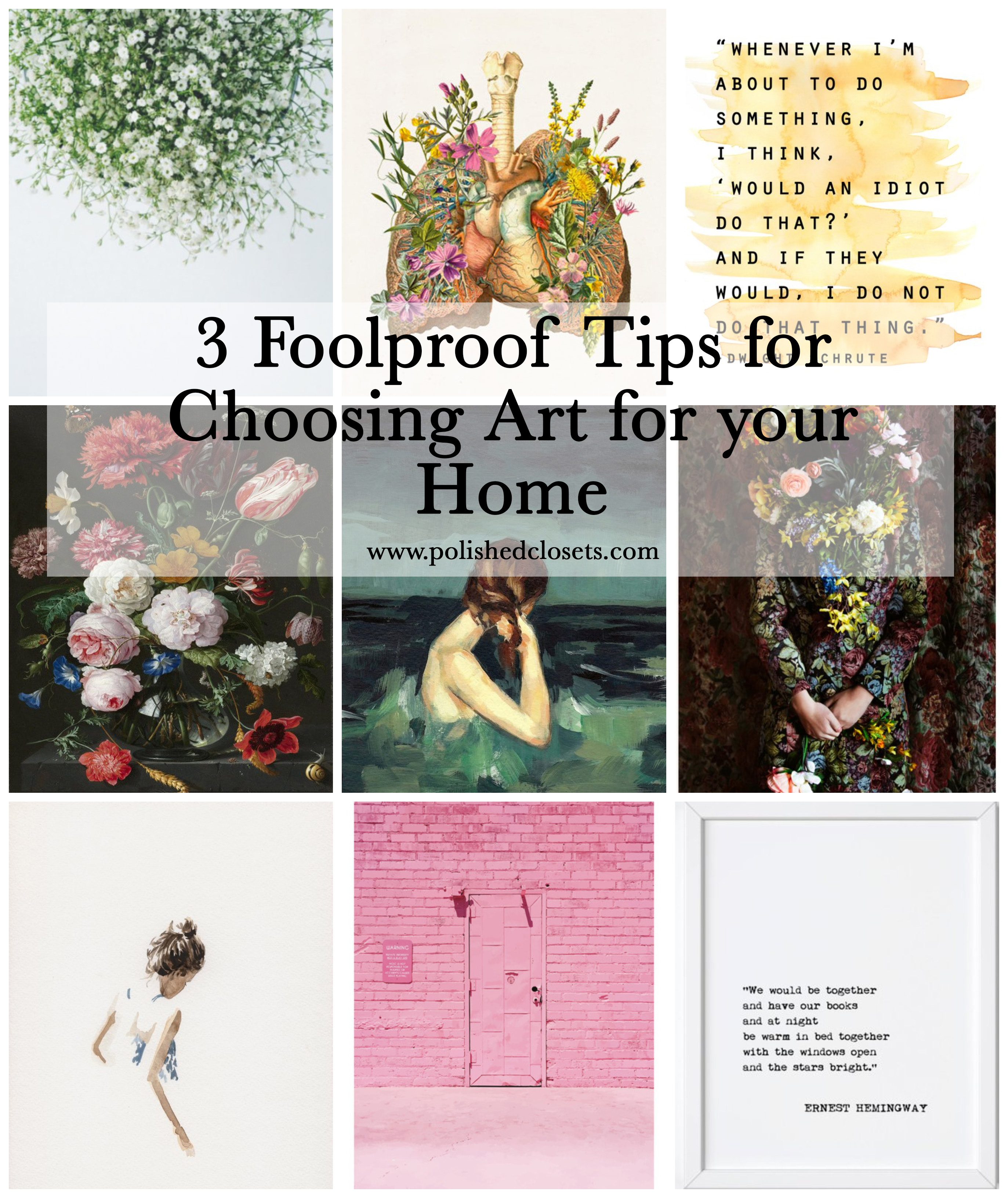 3 Foolproof Tips For Choosing Art Your Home