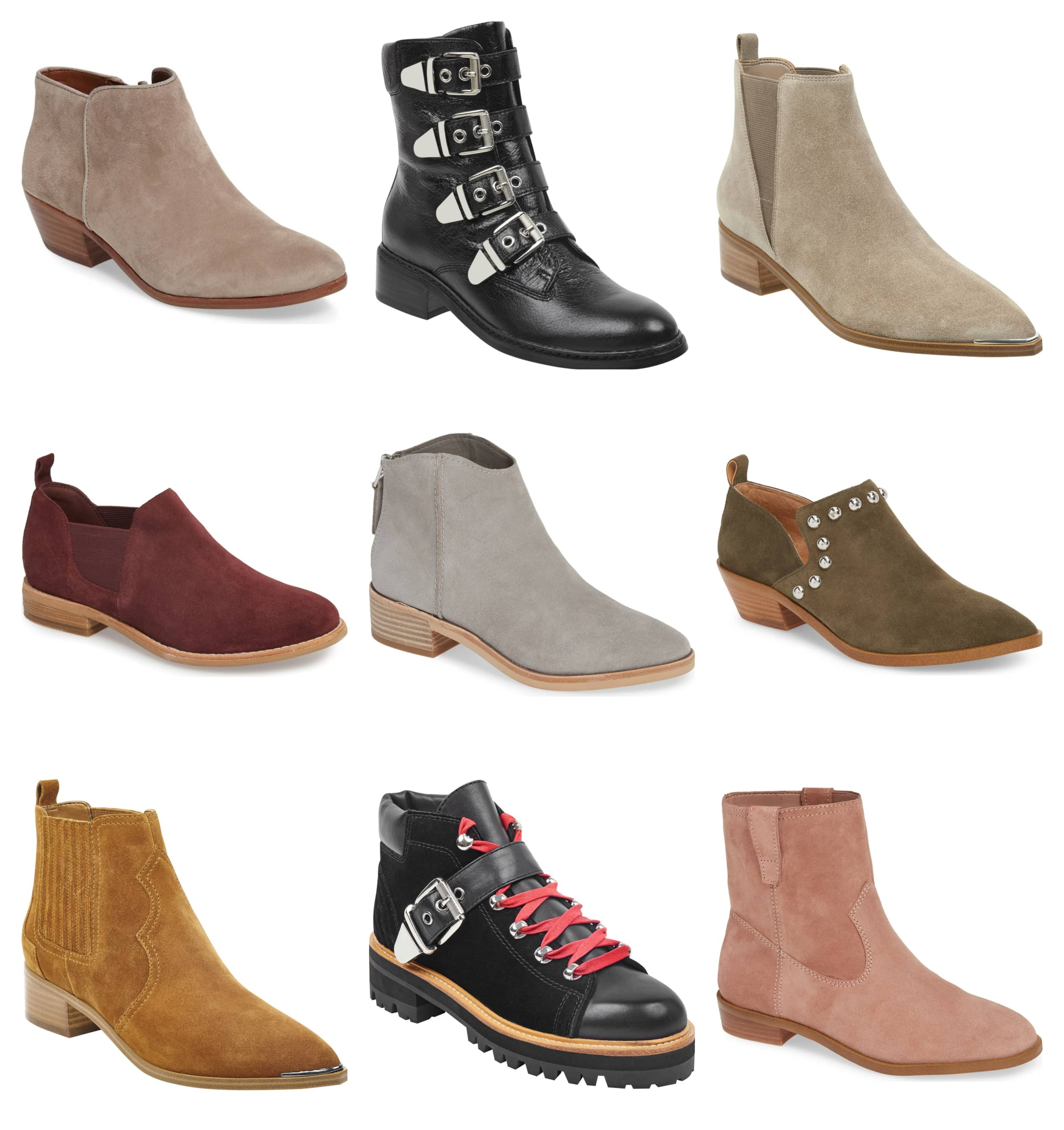 Flat Ankle Boot Styles