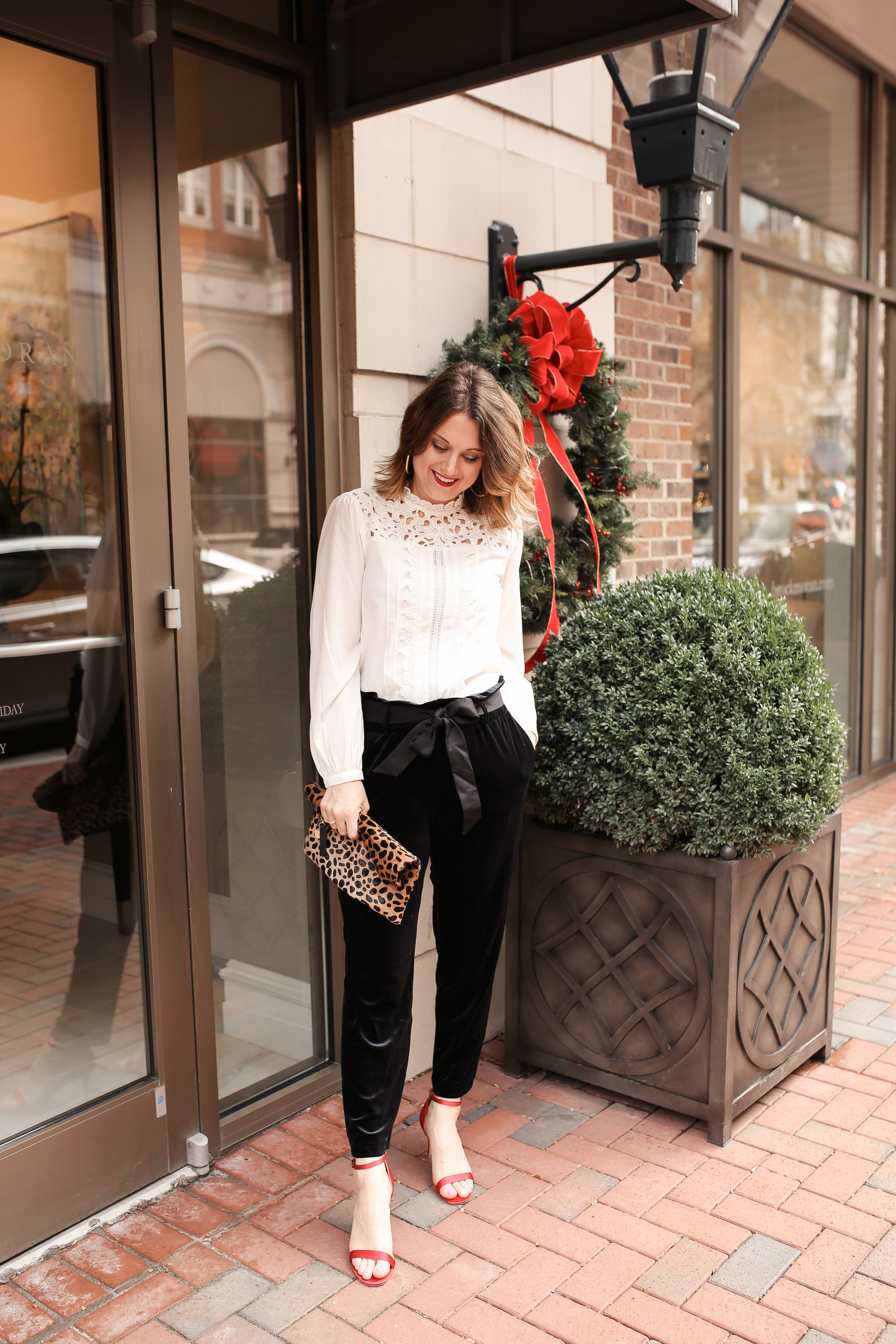 How to Style Velvet Pants \u0026 Velvet Pants Outfits , Polished