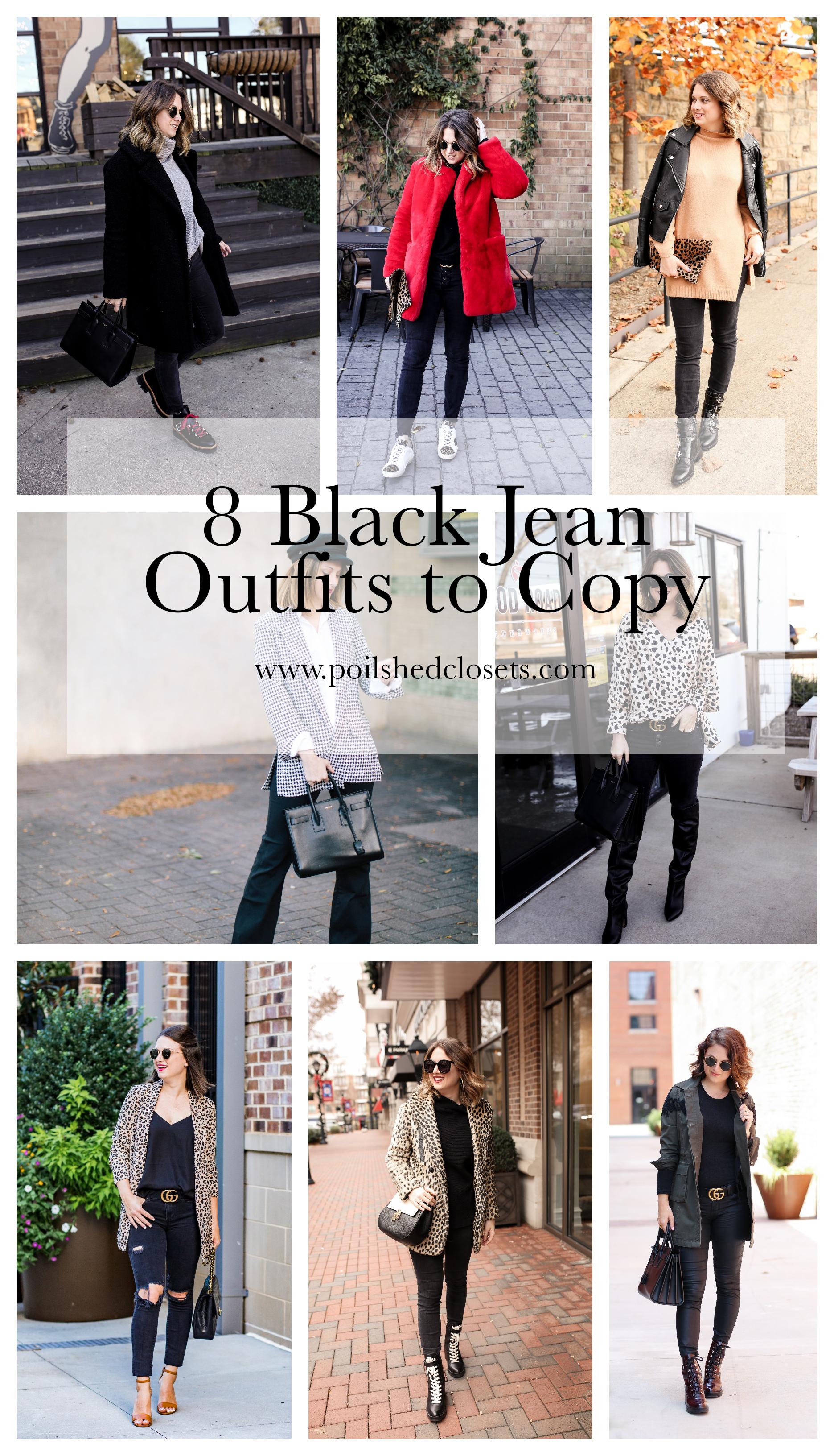 6f185f2e232 Black Jeans Outfits  8 Ideas to Copy - Polished Closets