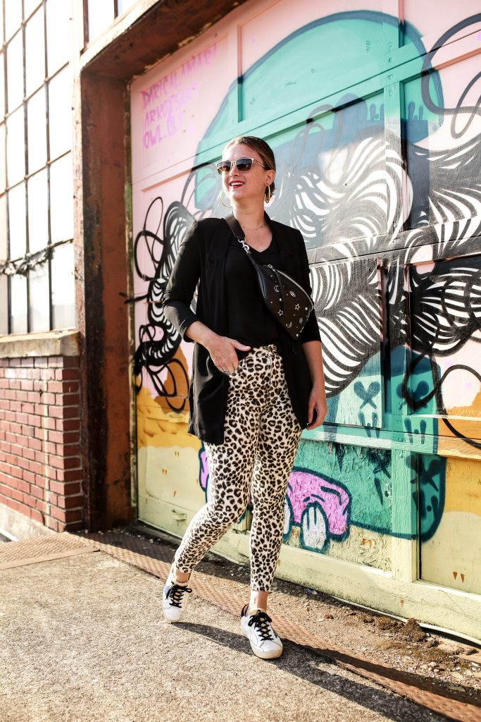 Styling Patterned Denim by Polished Closets