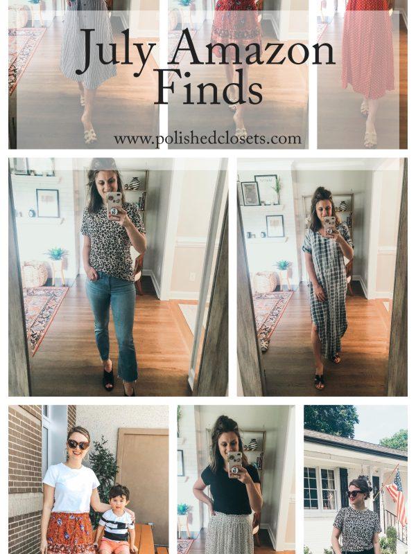 July Amazon Fashion Finds